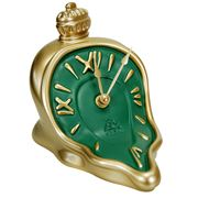 Antartidee - Melting Hours Clock Gold & Green