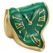 Antartidee - Melting Time Clock Gold & Green