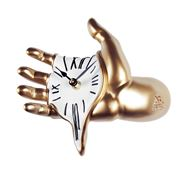 Antartidee - Hand Wall Clock Gold/White