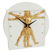 Antartidee - Man Dimension Clock White