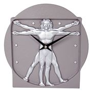 Antartidee - Man Dimension Clock Grey