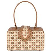 Mehry Mu - Fey In The 50s Latte Leather & Rattan