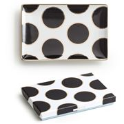 Rosanna - Ladies Choice Black & Gold Spotted Tray