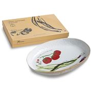 Rosanna - Farm To Table Oval Platter Spring Onion 37x24cm