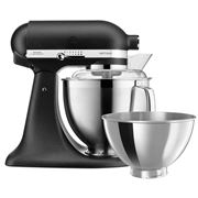 KitchenAid - KSM177 Cast Iron Black Stand Mixer
