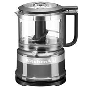 KitchenAid - 3.5 Cup Mini Food Chopper KFC3516 Cont. Silver