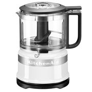 KitchenAid - 3.5 Cup Mini Food Chopper KFC3516 White