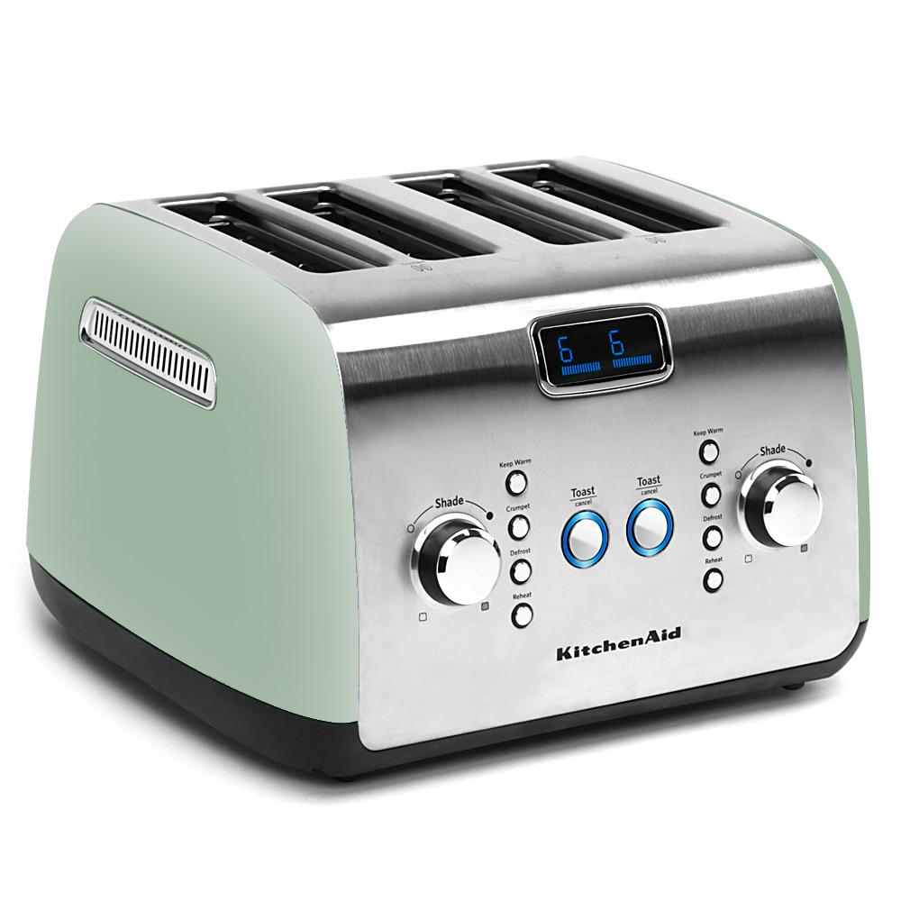 Kitchenaid Four Slice Toaster Kmt423 Pistachio Peter S