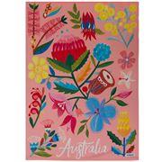 Australiana - Flora Tea Towel 50x70cm