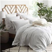 Private Collection - Hampton Quilt Cover Set White S/King