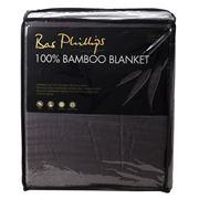 Bas Phillips - 100% Bamboo Blanket Granite Queen/King