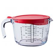 O'Cuisine - Measuring Jug With Lid 1L