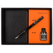 Campo Marzio - Forbes Fountain Pen With Journal Black