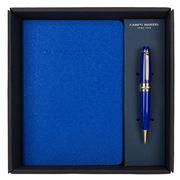 Campo Marzio - Minny Ballpoint Pen With Journal Ocean Blue