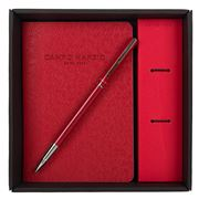 Campo Marzio - Unix Rollerball Pen With Journal  Cherry Red