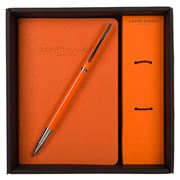 Campo Marzio - Unix Rollerball Pen with Journal Mandarin