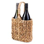 A.Trends - Water Hyacinth Picnic Wine Carrier