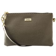 Serenade Leather - Cosmopolitan Cross Body Bag Gold