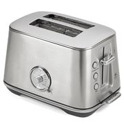 Breville - Toast Select Luxe Toaster BTA735 Brushed S/Steel