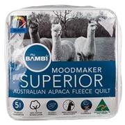 Bambi -  Moodmaker 300gsm Superior Alpaca Fleece Quilt Queen