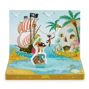 Music Box Cards - Pirate Adventures Music Box Card