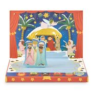 Music Box Card - The Little Nativity Christmas Music Card