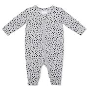 Marquise - Leopard Print Zipsuit Grey/Black 000