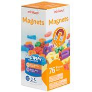 Miniland - Magnetic Letters Set 76pce