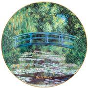 Goebel - Claude Monet's 'Japanese Garden' Plate 36cm