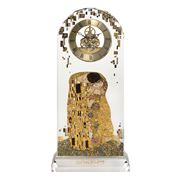 Goebel - Gustav Klimt `The Kiss' Desk Clock 32cm