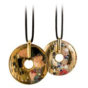 Goebel - Gustav Klimt 'The Kiss' Necklace