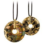 Goebel - Gustav Klimt 'Fulfilment' Necklace