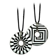 Goebel - Artis Orbis  Wheel & Stripes Necklace