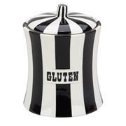 Jonathan Adler - Vice Gluten Canister Black and White