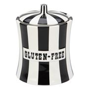 Jonathan Adler - Vice Gluten Free Canister Black and White