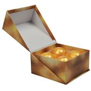 AT - Bath Bomb Set Pure Gold 4pce