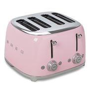 Smeg - 50's Retro Four Slot Toaster TSF03 Pink