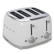 Smeg - 50's Retro Four Slot Toaster TSF03 White