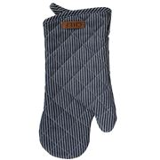Ogilvies Designs - Oven Glove Chef Stripe Navy