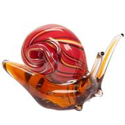 Zibo - Snail Ornament Red