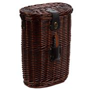 Satara - Wicker Double Wine Cooler Dark Brown