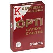 Piatnik - Opti Poker Large Index Playing Cards Red