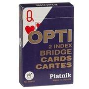 Piatnik - Opti Large Index Bridge Playing Cards Blue