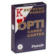 Piatnik - Opti Poker Large Index Playing Cards Blue