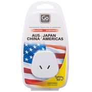 Go Travel - Aus & China To USA/Japan Adaptor