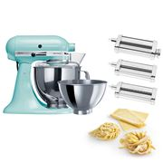 KitchenAid - KSM160 Ice Stand Mixer w/Pasta Set