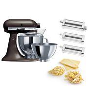KitchenAid - KSM160 Truffle Mixer w/Pasta Set