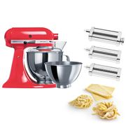 KitchenAid - KSM160 Watermelon Mixer w/Pasta Set