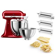 KitchenAid - KSM177 Candy Apple Mixer w/Pasta Set