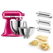 KitchenAid - KSM177 Raspberry Ice Mixer w/Pasta Set
